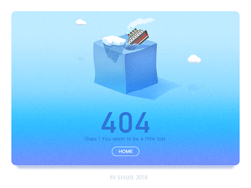 404 Page_TITANIC