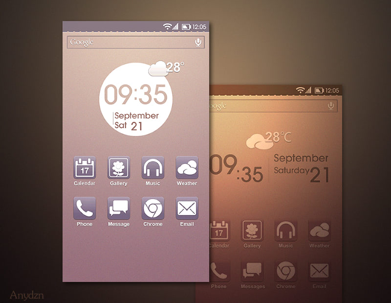 手机定制UI