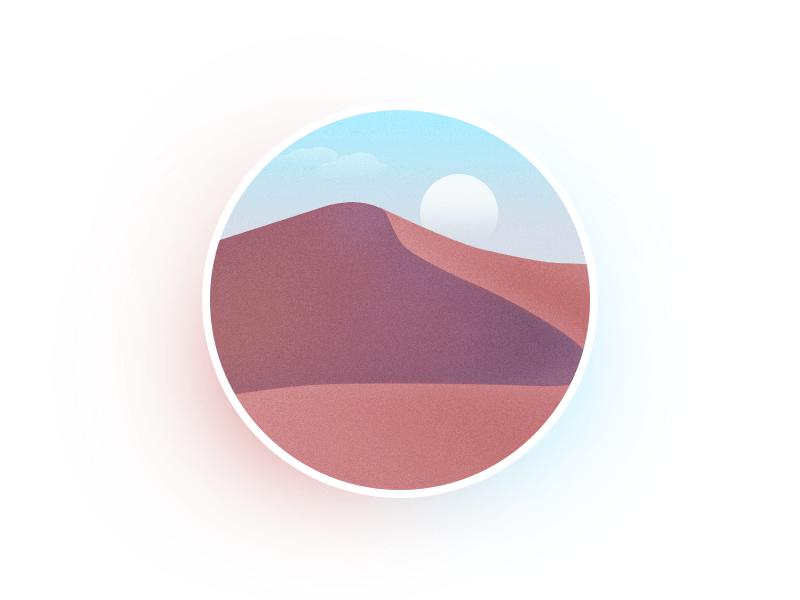 圆里的世界_沙漠 I