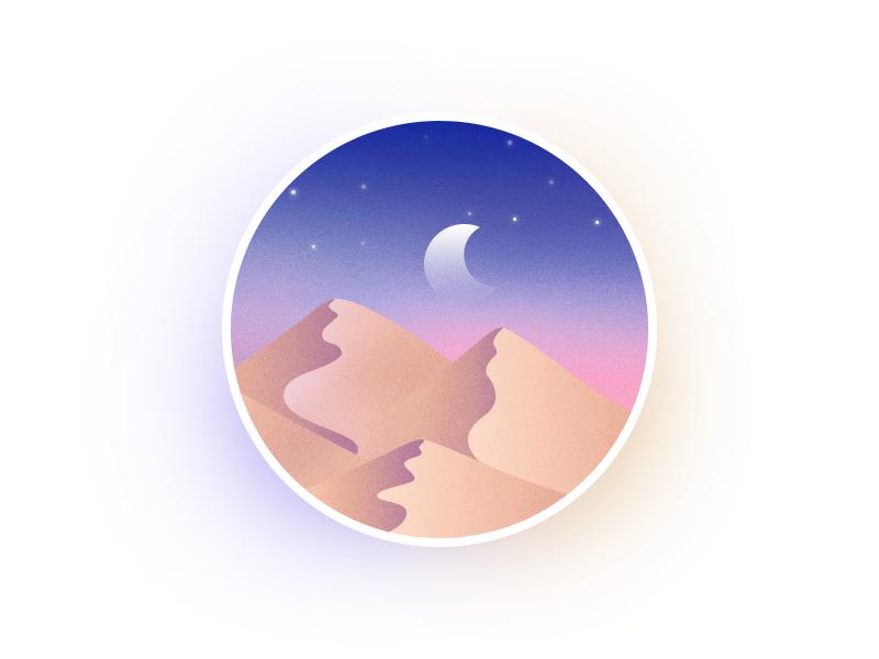 圆里的世界_沙漠 II