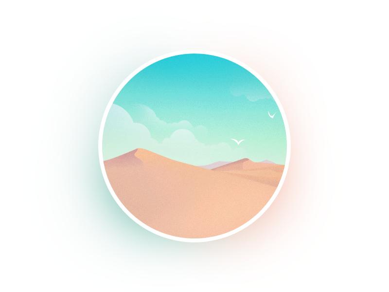 圆里的世界_沙漠 III