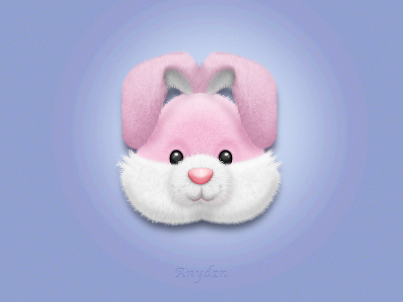 Rabbit毛绒玩具